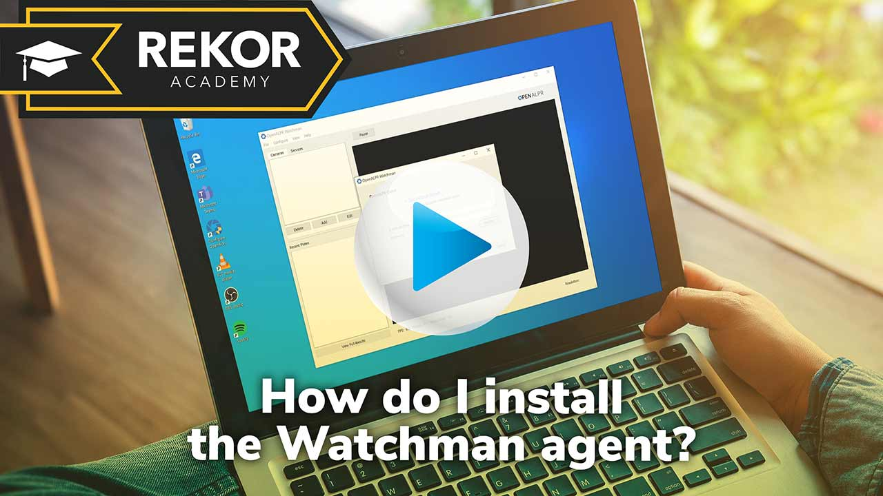 How do I install the Watchman agent video thumbnail
