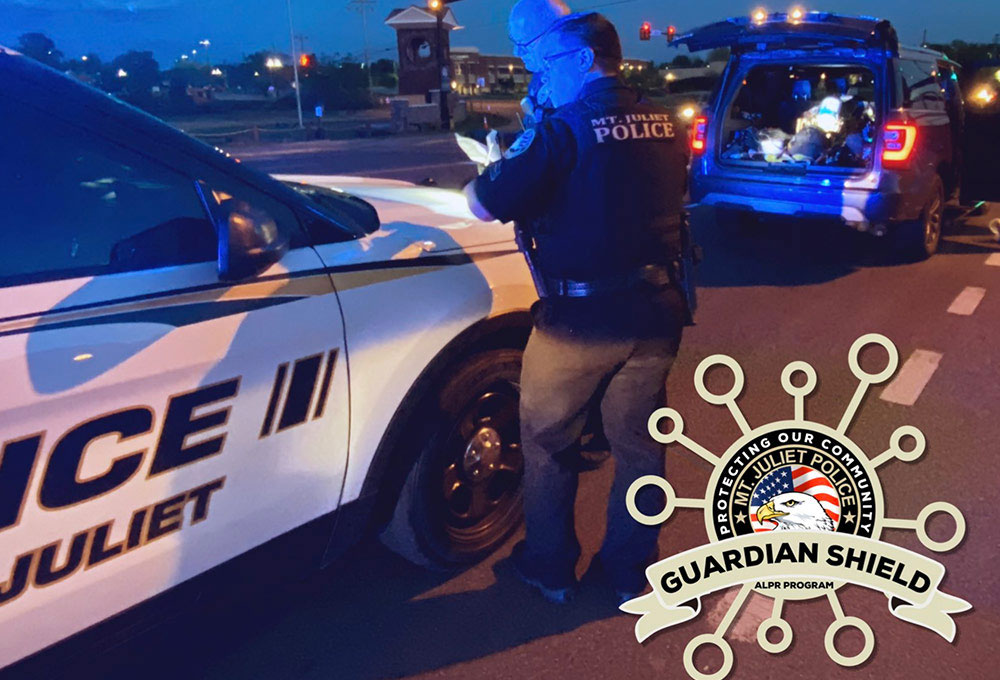 How we help Mt. Juliet PD apprehend criminals and make their community safer