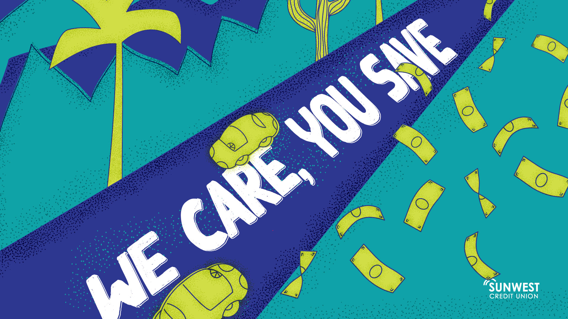 We Care, You Save. It's a Win-Win! Receive up to 2.00% APR* off your current auto rate, as low as 2.47% APR*. Plus, make no payments for 90 days!