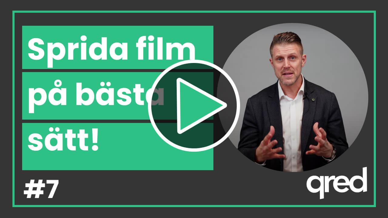 Hur sprider du din film på bästa sätt?