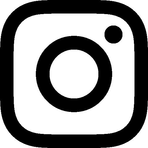Instagram logotyp i svart som leder till Qreds Instagram