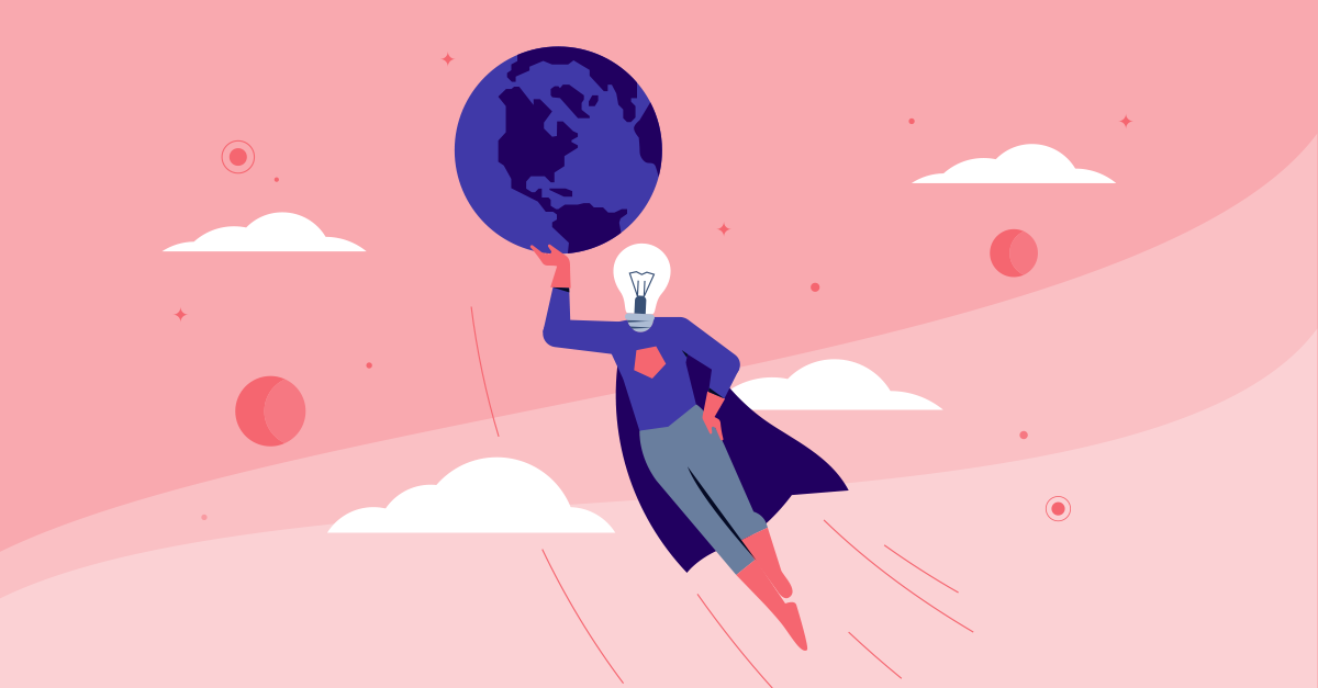 startups are here to save the world
