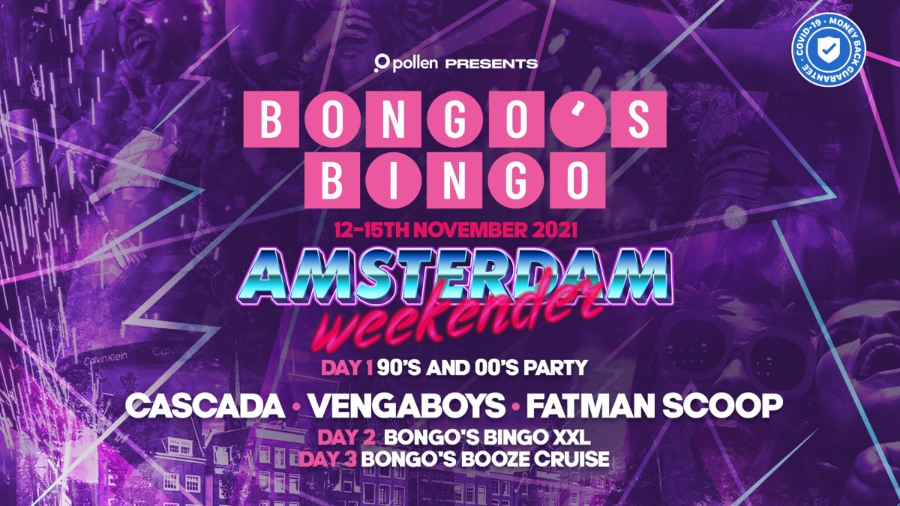 Bongo's Bingo Amsterdam Weekender