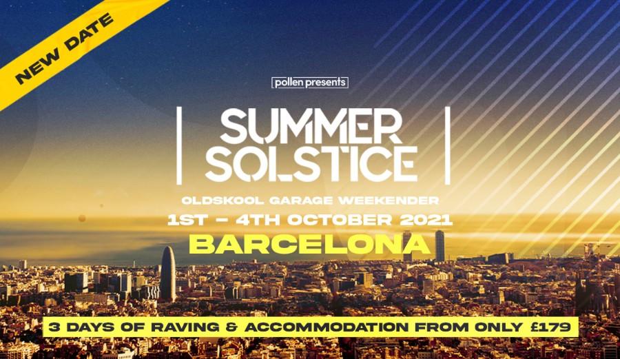 Summer Solstice Barcelona Weekender