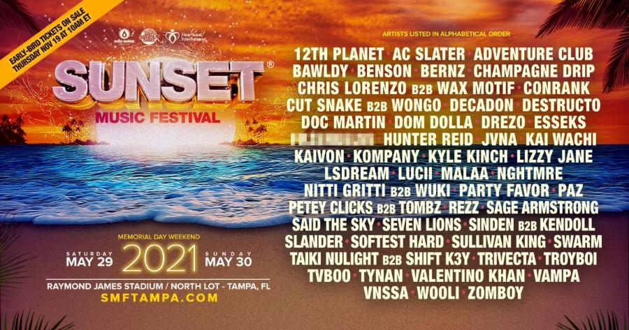 Sunset Music Festival 2021