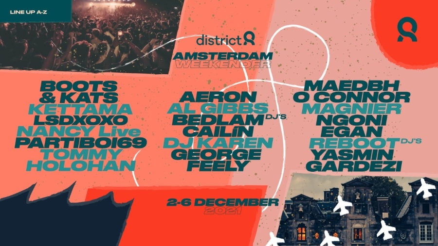 District 8 Amsterdam Weekender