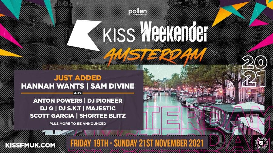 Kiss Weekender Amsterdam