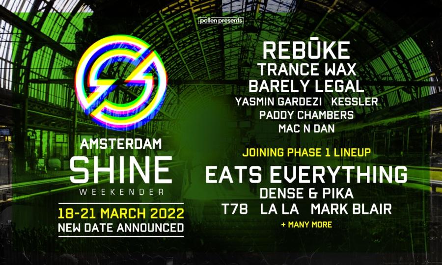 Shine Weekender Amsterdam