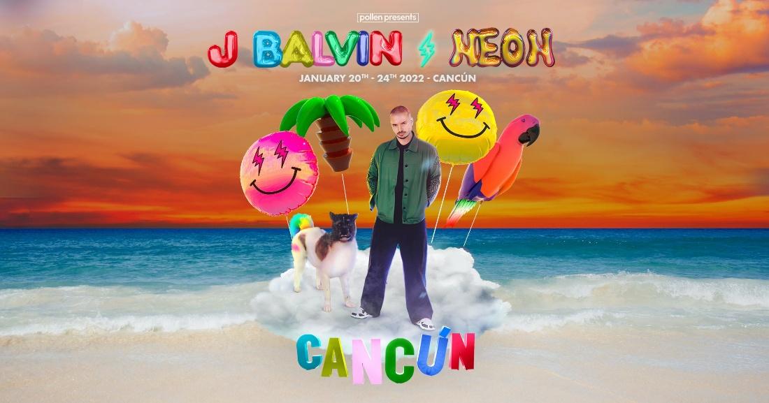 J Balvin: NEON Cancun