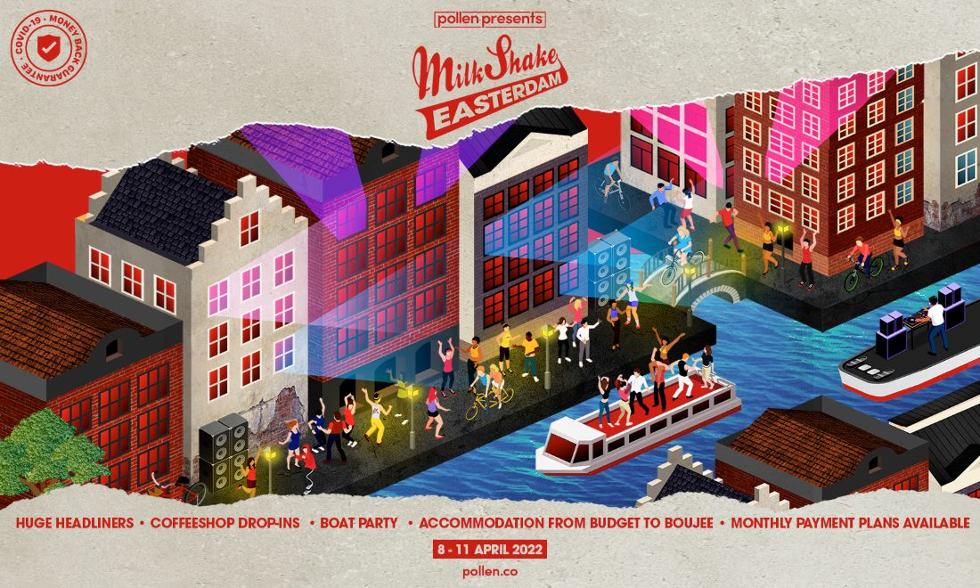 Milkshake Amsterdam Weekender