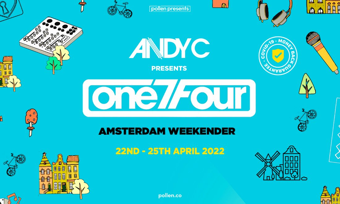 Andy C Presents One7four Weekender Amsterdam