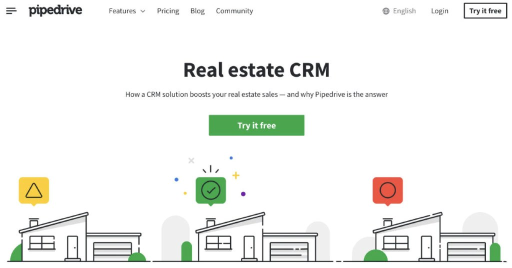 Pipedrive Real Estate CRM