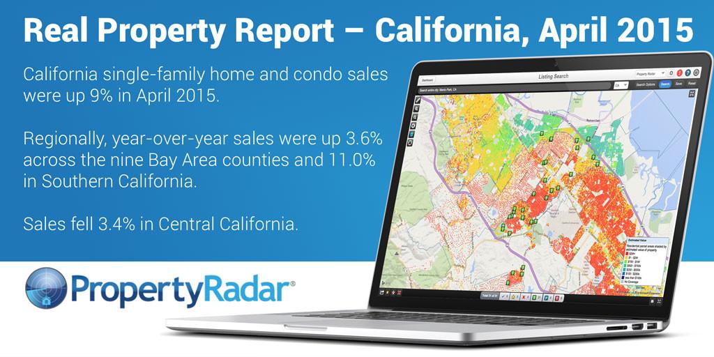 Real Property Report – California, April 2015