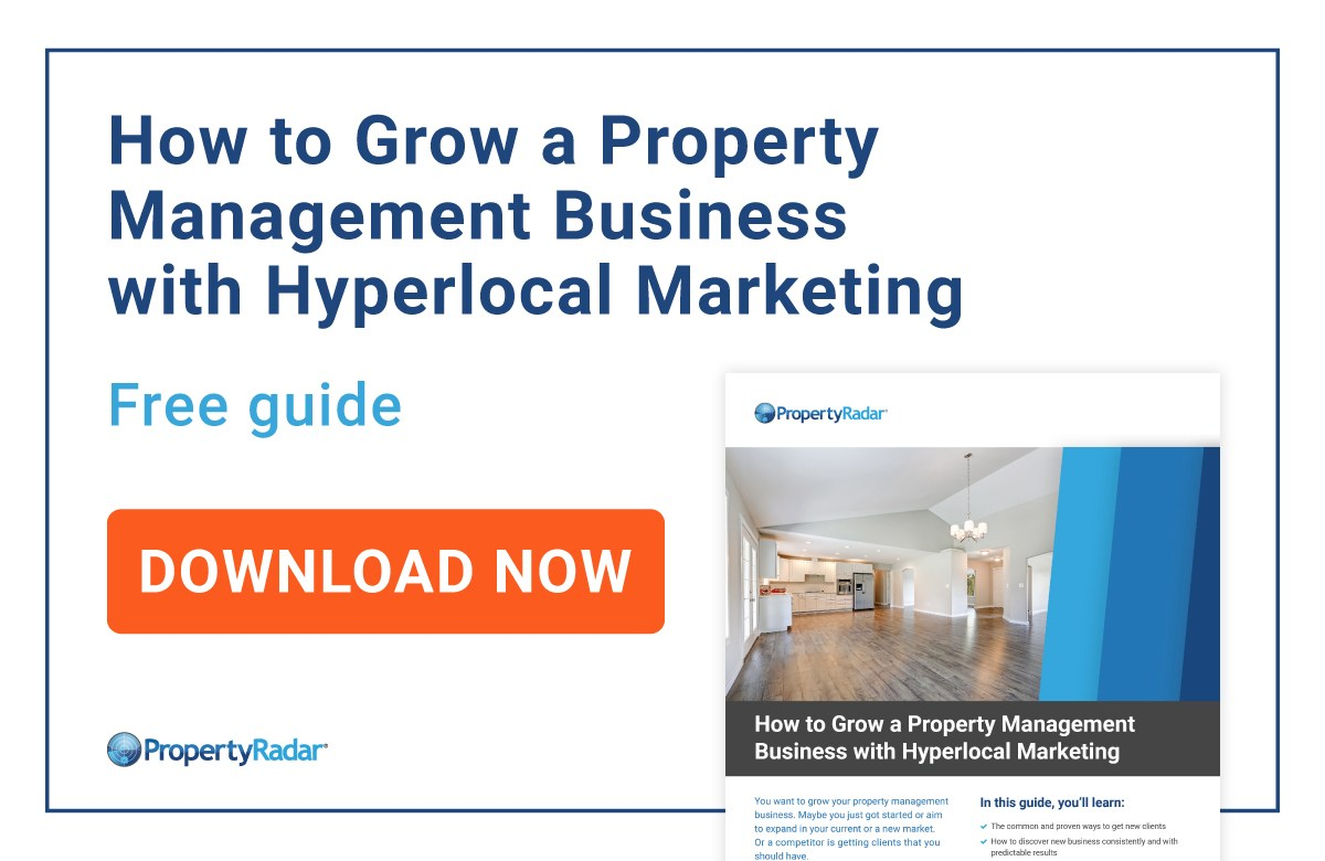 Your free guide on how to grow a property management business.