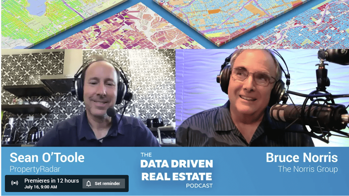 This week we welcome long-time real estate investor and hard money lender, Bruce Norris of The Norris Group.Sean asks how Bruce got in the real estate game and how data has driven
