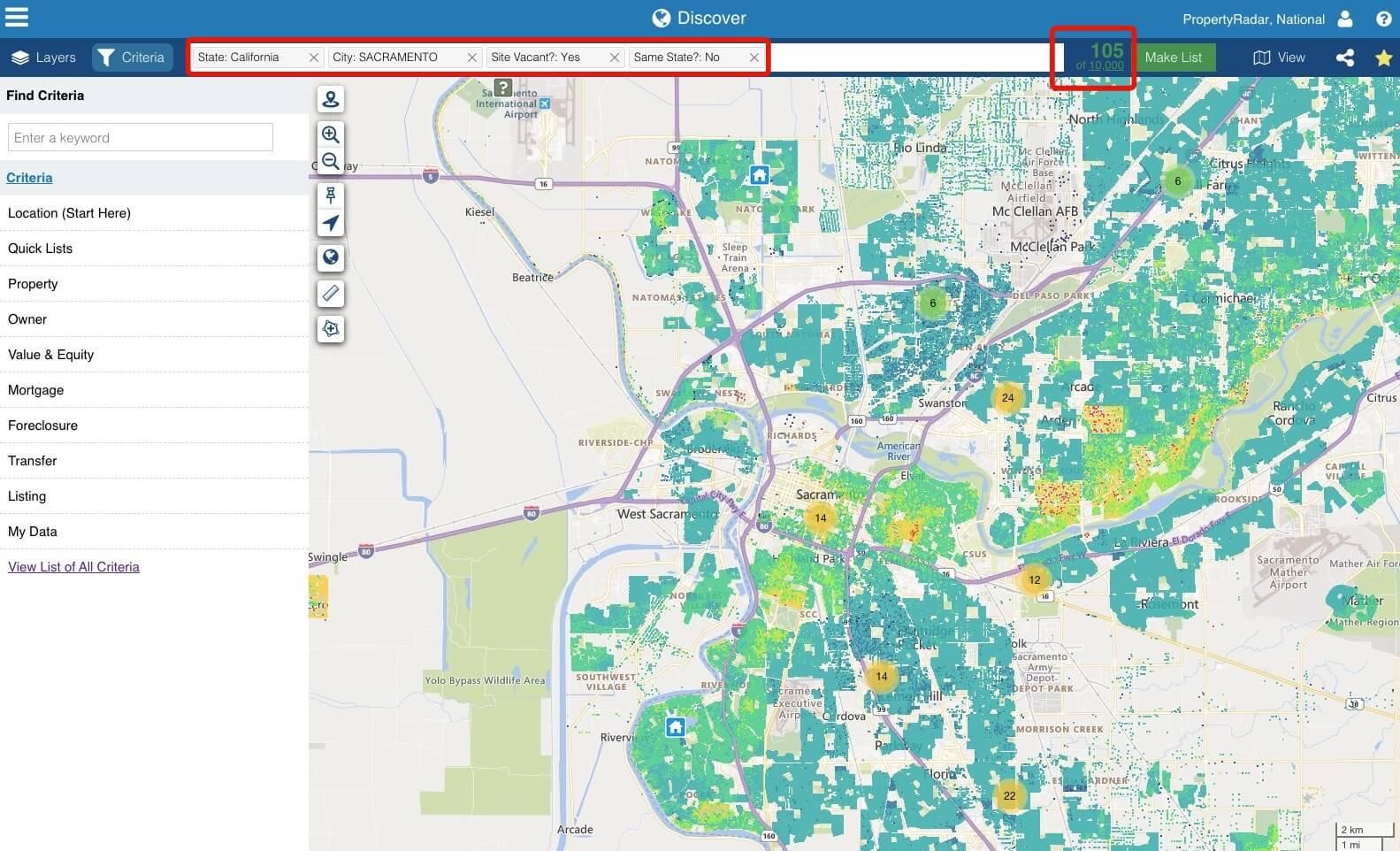 LionDesk integration with PropertyRadar for real estate investors