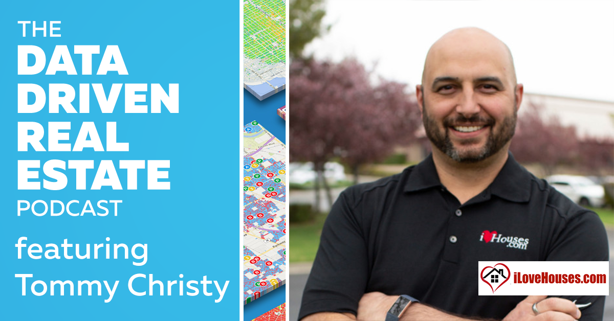 Tommy Christy, CEO of ILoveHouses.com, shares what he learned from buying, repairing, and holding 2700 homes with Invitation Homes. Now with over 1,000 distressed flips under his belt, where and what is he buying and how does he scale?