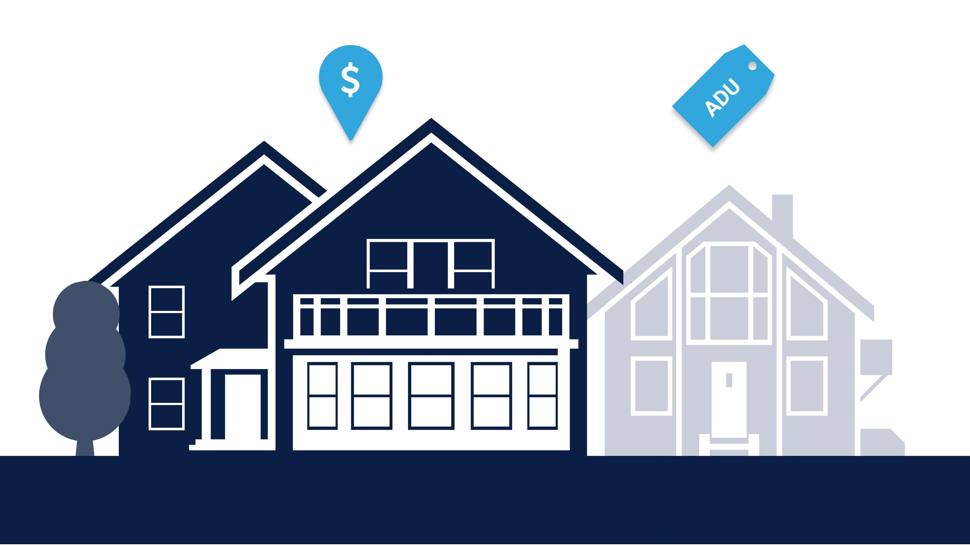 If you're not including Accessory Dwelling Units (ADUs) as part of your real estate investment strategy, you may be missing a golden opportunity. Generate additional monthly income while also adding to your property's resale value.