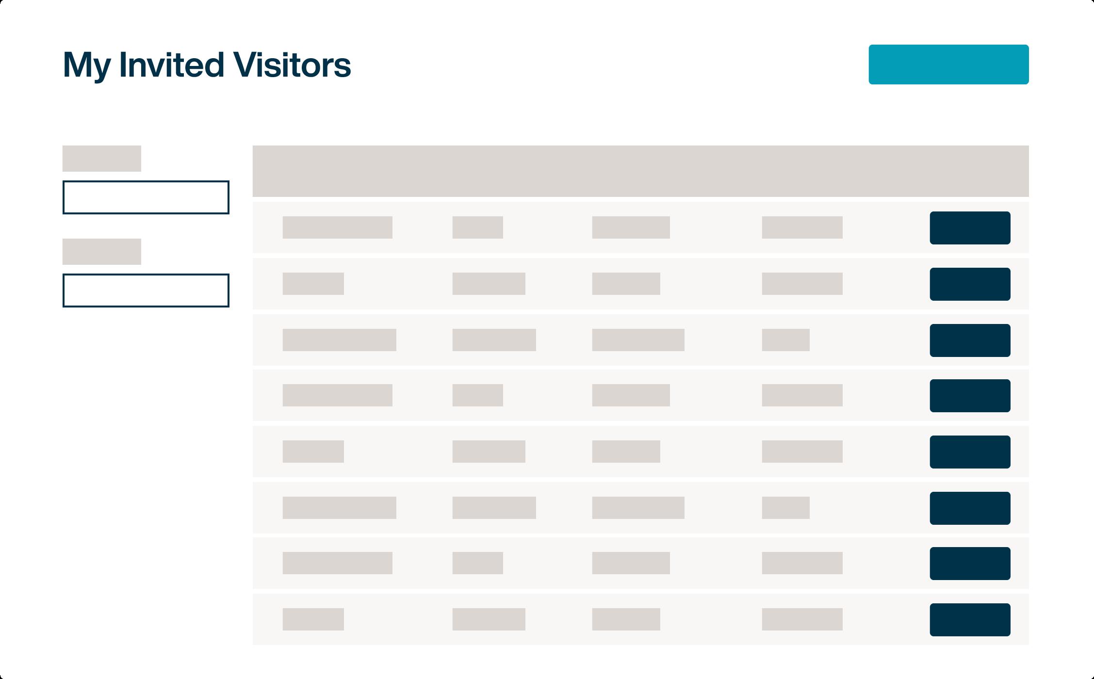 Visitor Management Dashboard