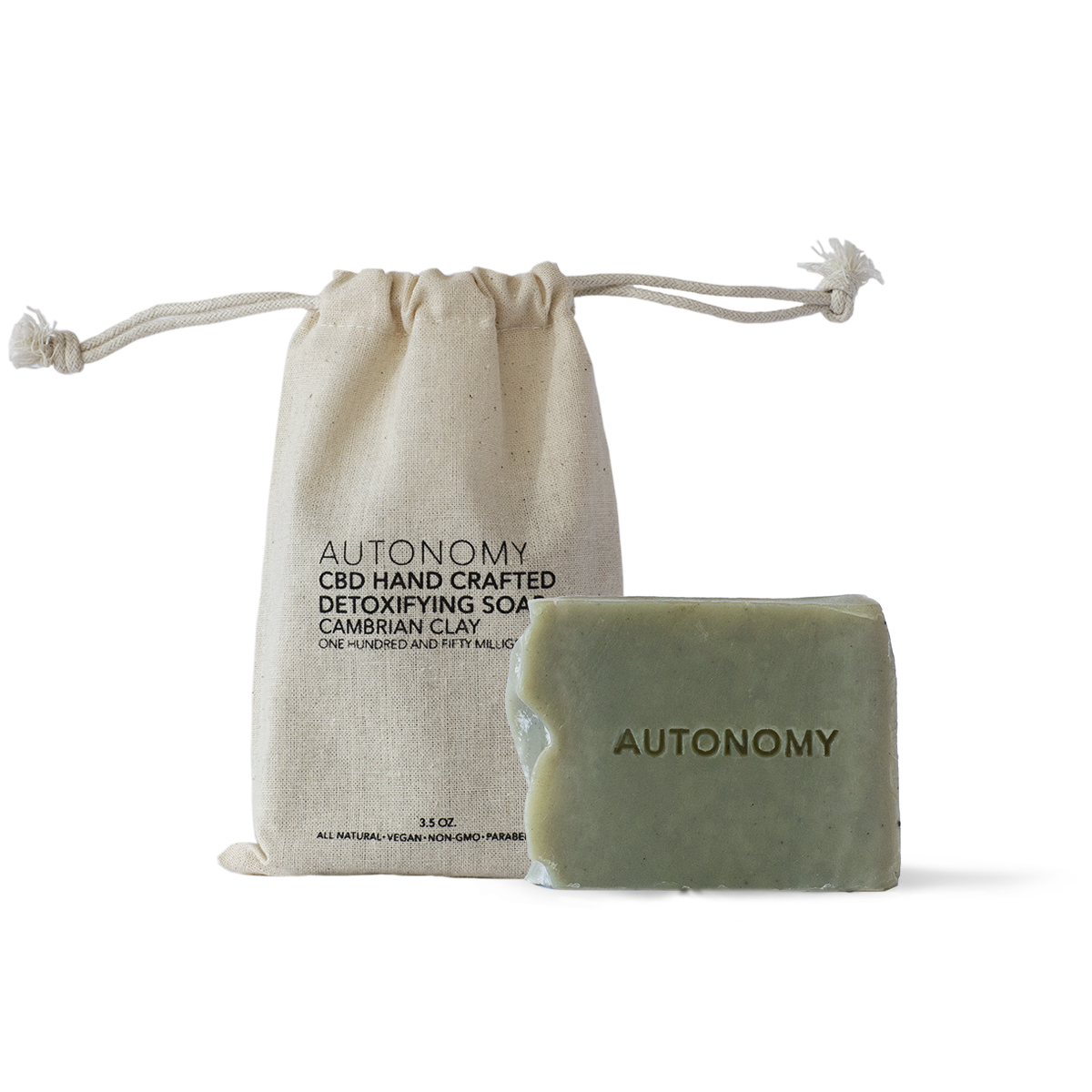 HANDCRAFTED SOAP - CAMBRIAN CLAY