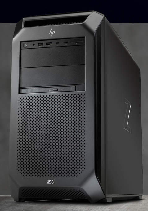 image of a HP Z8