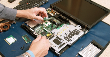 image of a device being repaired