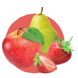 Apple Pear Strawberry