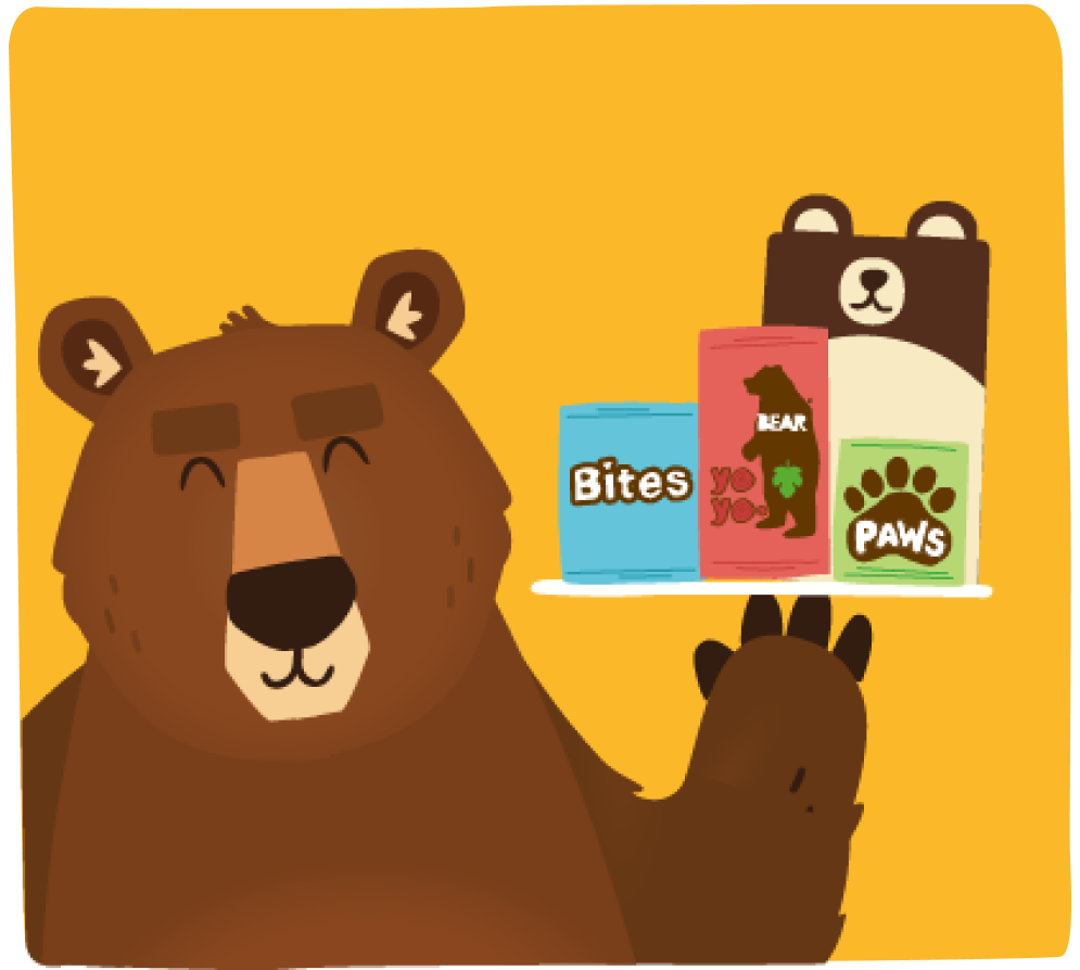 Our Products Bear Snacks