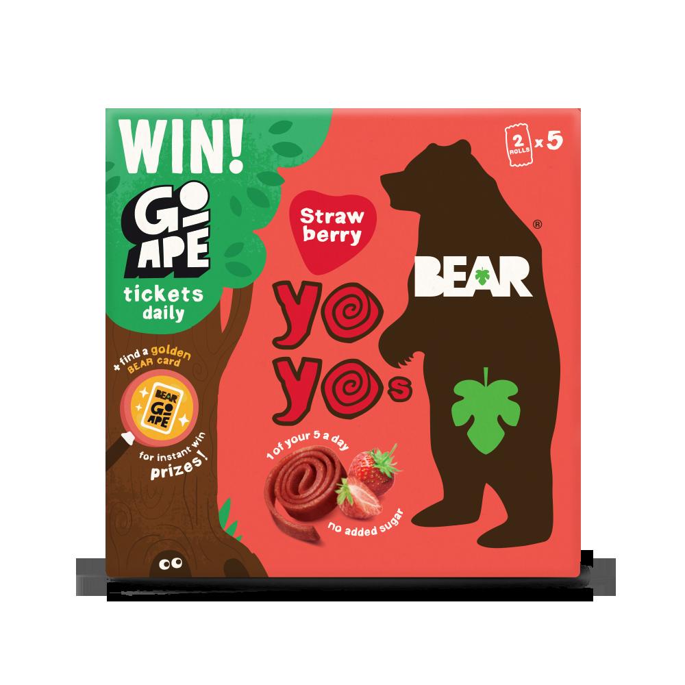 BEAR Fruit Strawberry Multi Pack with Go Ape