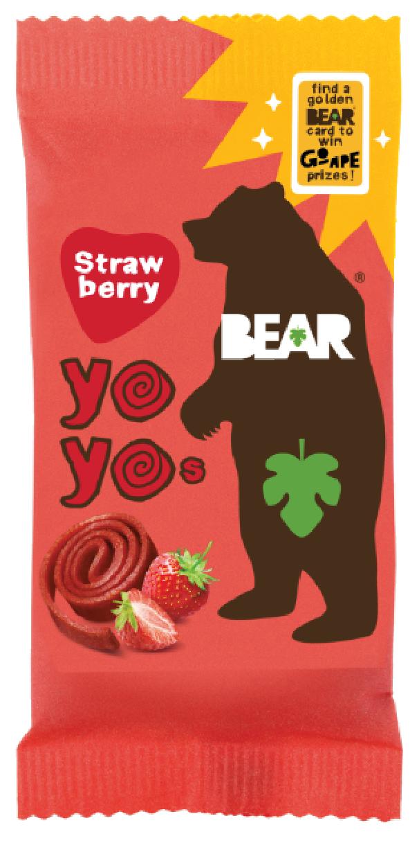 BEAR Yo Yo's Strawberry Single Pack