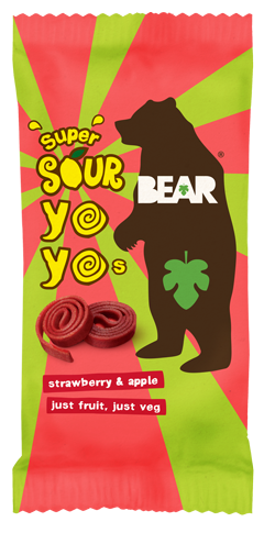 super sour  strawberry & apple