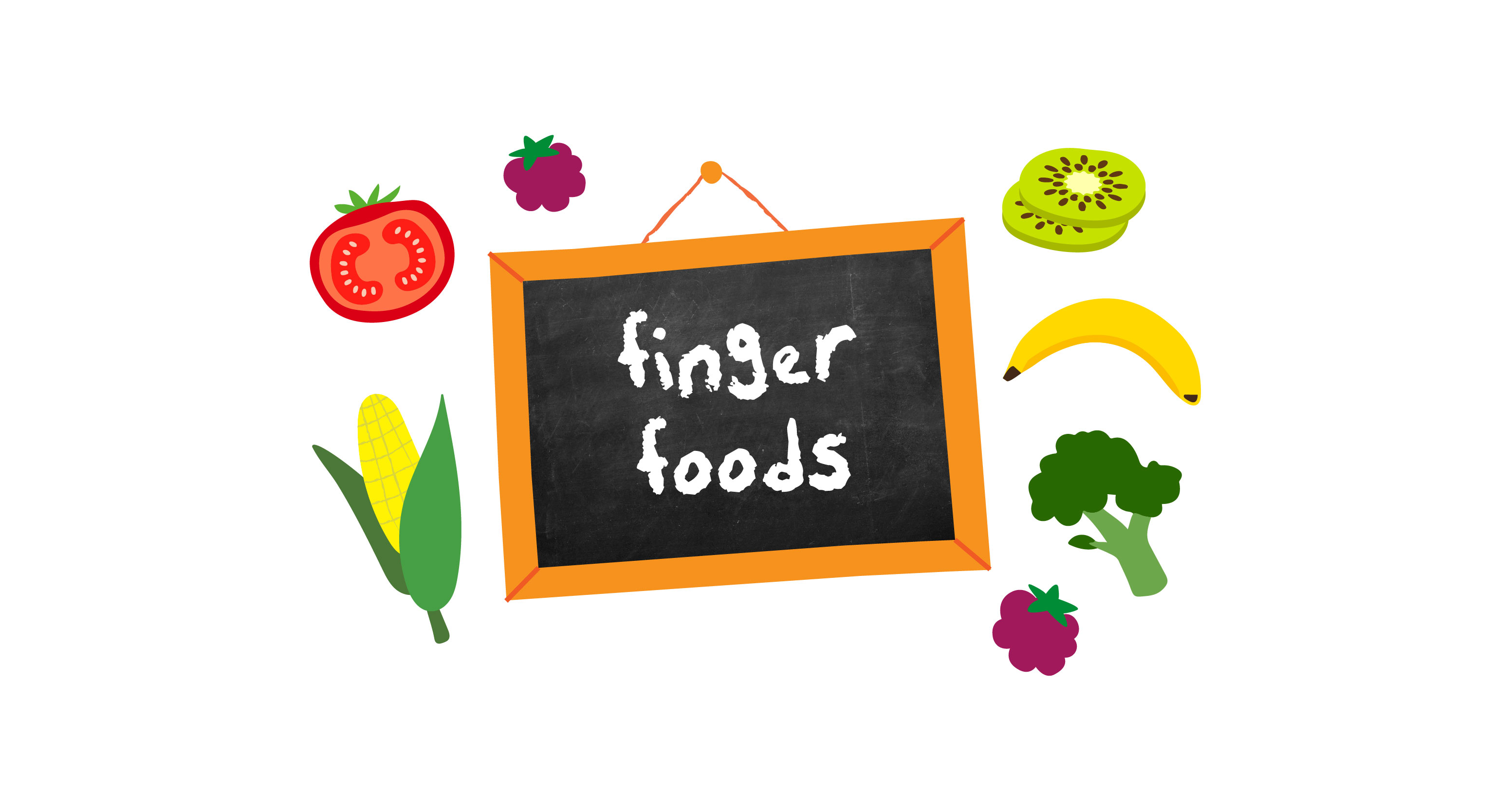 Getting to grips with finger foods