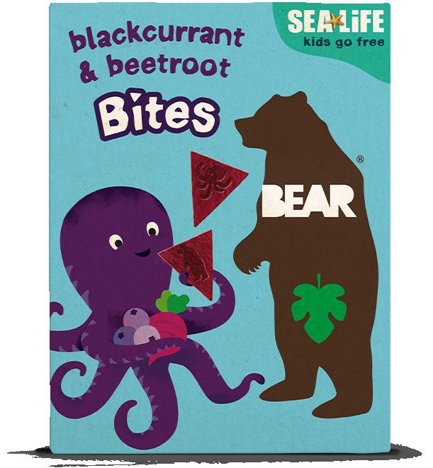 blackcurrant & beetroot bites