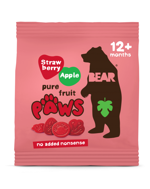 strawberry & apple paws
