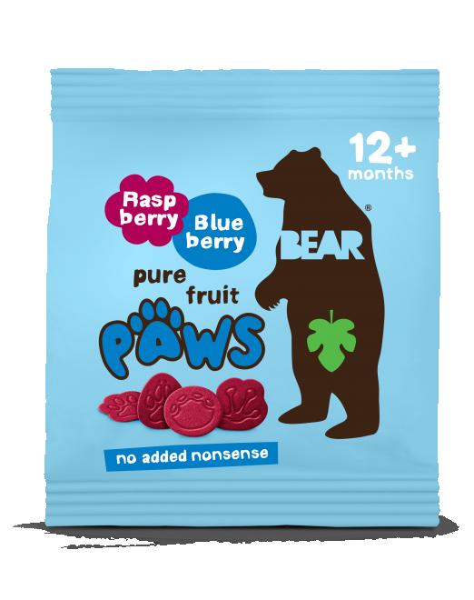 raspberry & blueberry paws