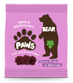 apple and blackcurrant paws