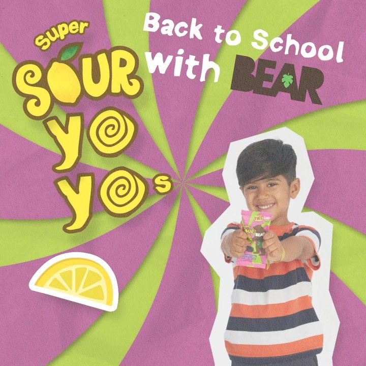 Paws up if your cubs are super sour yoyo fans! 🐻 🙌 ⁣ ⁣ #BackToSchoolWithBEAR #BEARyoyos #RealFruit #RealFlavour #RealFun