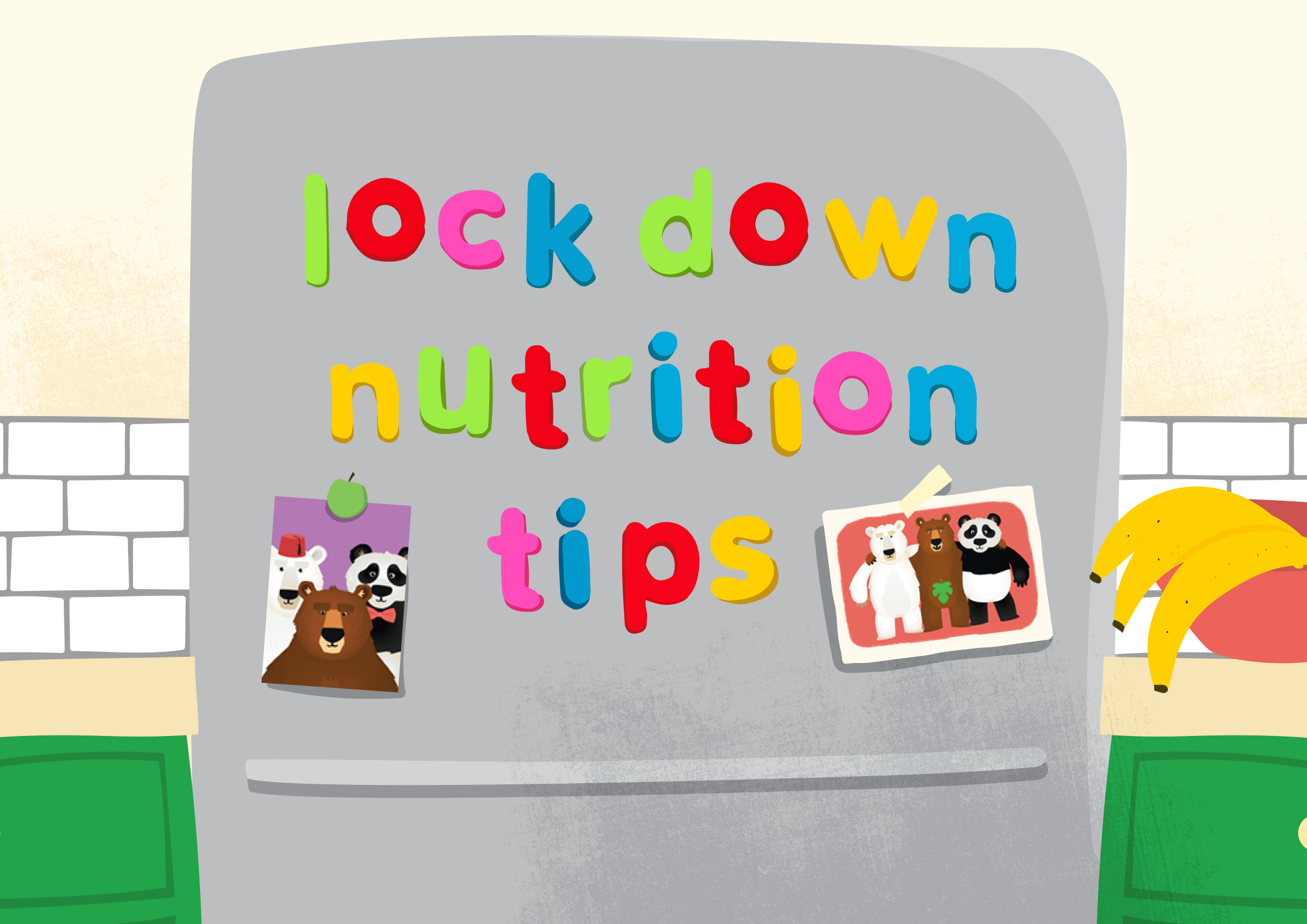 Lockdown nutrition tips