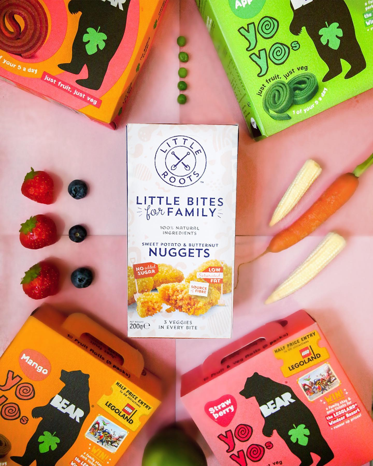🐻GIVEAWAY🐻 We've teamed up with our pals over at Little Roots @strongrootsuk for a fruit and veg packed giveaway! We're giving you the chance to win 4x BEAR Yoyo multipacks, the perfect lunchbox sn...