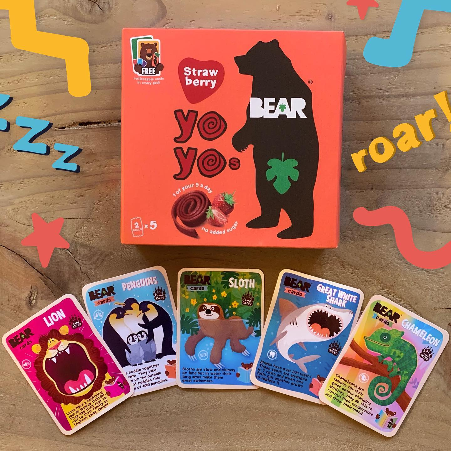 1 BEAR yoyo multipack = 5 BEAR cards! 🦁 🐧 🦥🦈 🦎 ⁣ ⁣ Does your cub have a favourite card yet? And who's already got their paws on our brand new BEAR cards App? 🐻 ⁣ ⁣ 🛒 Our Yoyo multipacks are still o...