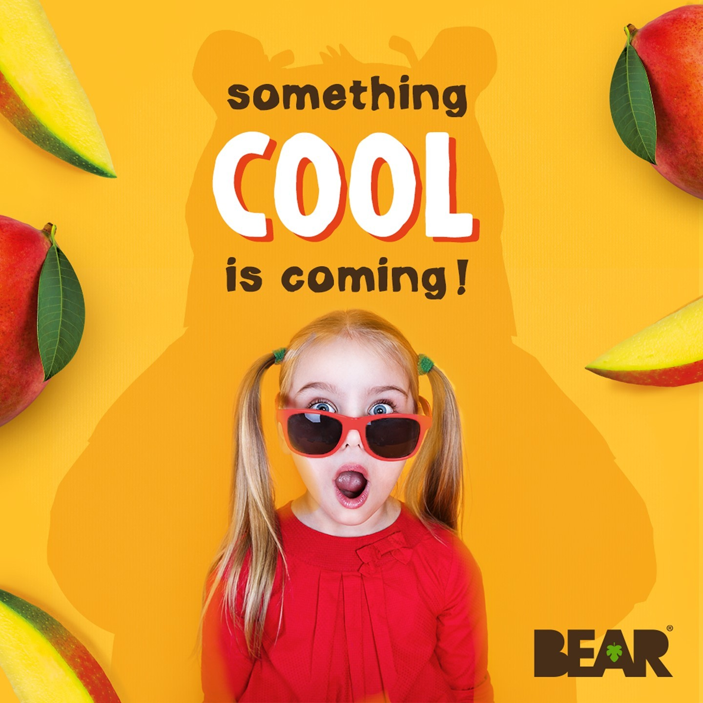Something brand NEW and very COOL is coming... 🐻 😎   Double tap if your cubs are excited and leave us a comment if you think you know what it could be! 👀   #ComingSoon #BEARsnacks #RealFruit #RealF...