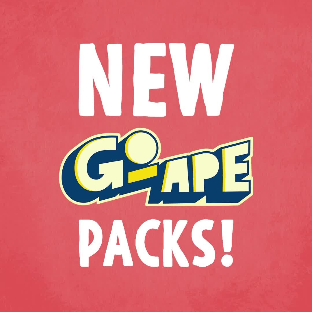 NEW Go Ape yoyo packs in store now! 🎉 Get the chance to win daily (yes daily) Go Ape tickets, as well as the chance to find a rare ✨golden✨ BEAR card to win grrreat prizes 🐻 🦍   #FindYourAdventureW...