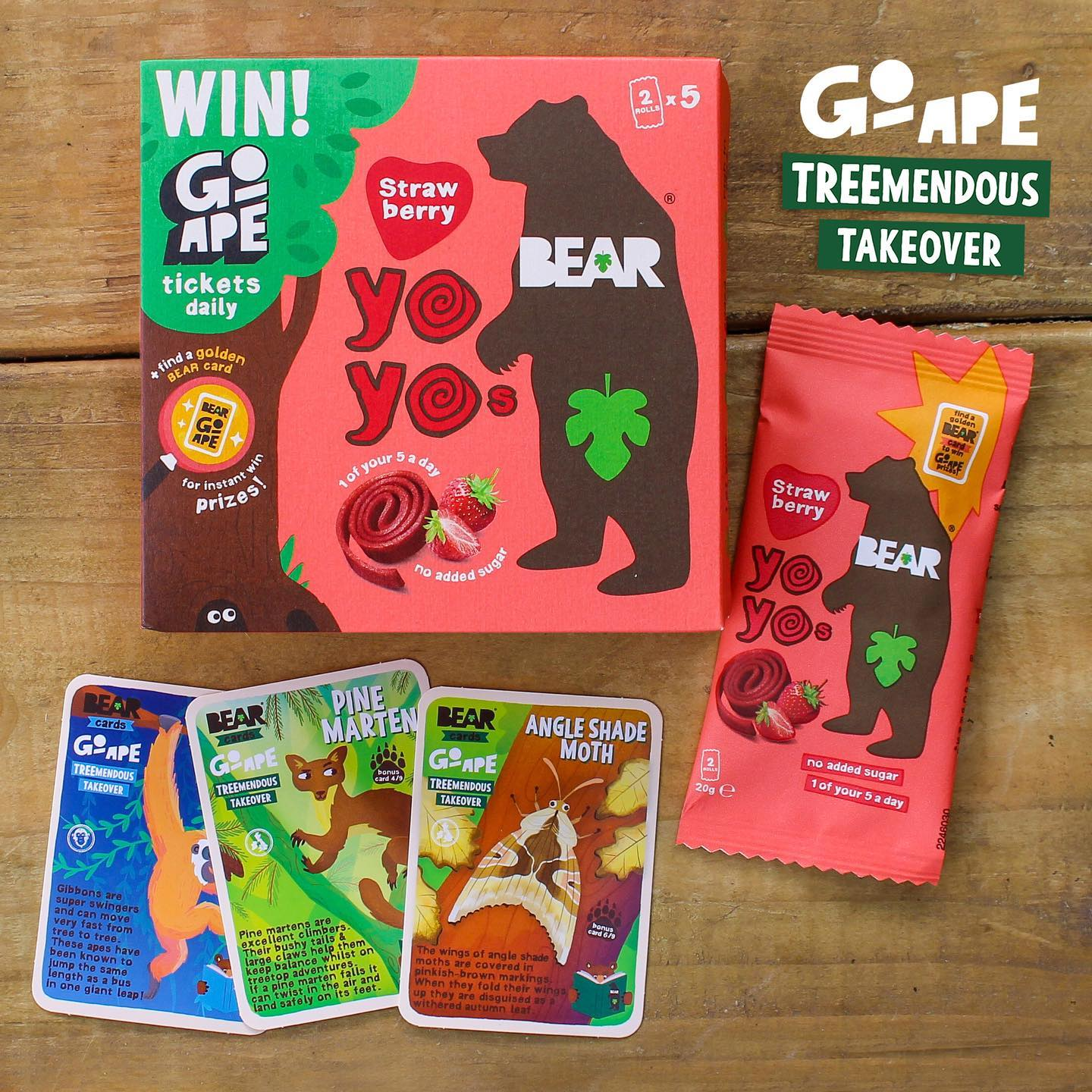🎉 NEW cards 🎉 There are 9 bonus Go Ape TREEmendous Takeover cards to be found in packs now! 🐻 🦍   The special edition cards celebrate animals who live and play in woodlands🌳🌲🌴   Keep your eyes ...