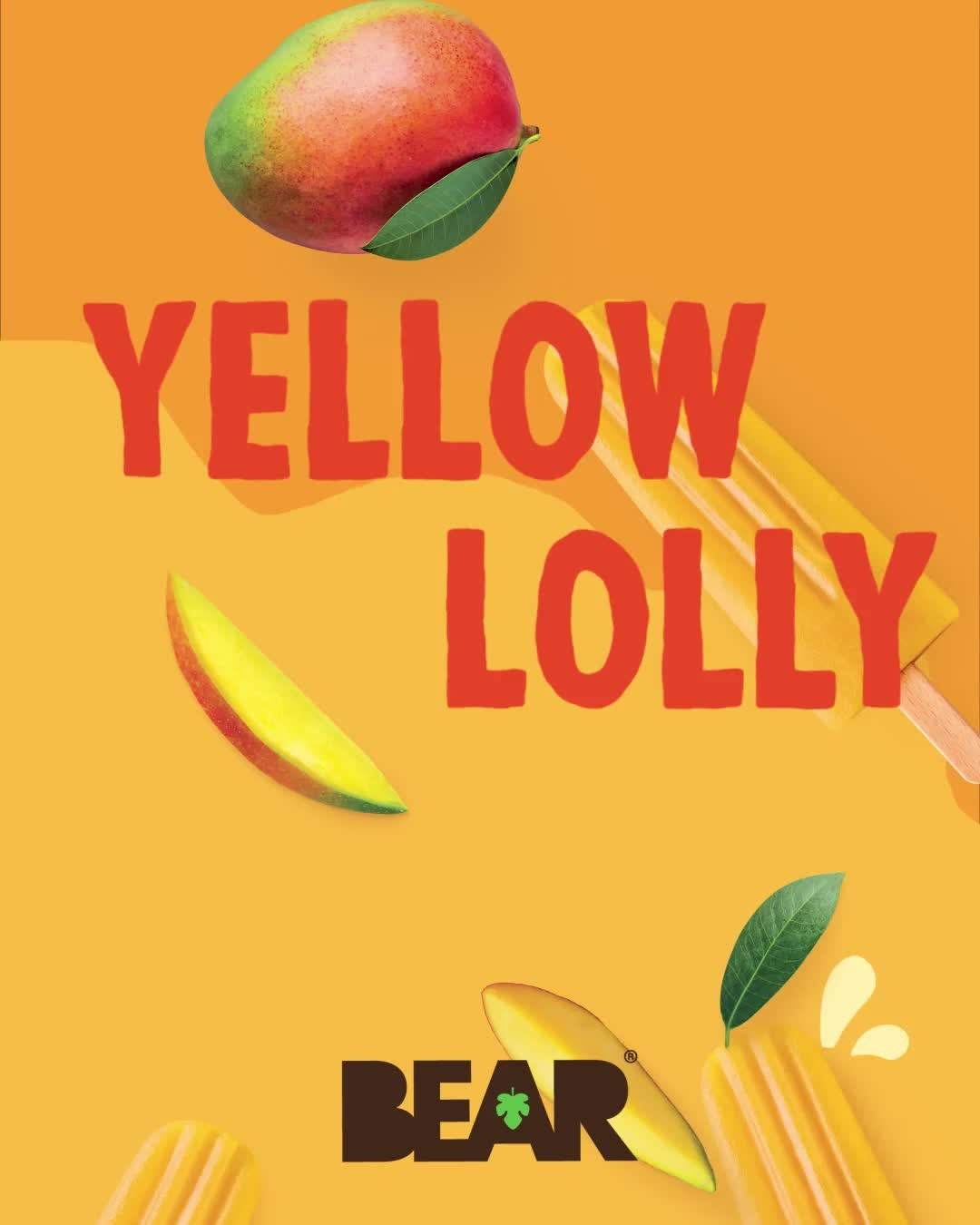 Tongue tied, sun outside, red or yellow - you decide ☀️   Find BEAR Lollies in the Waitrose Frozen Aisle now 🐻🥭🍓  #BEARsnacks #BEARlollies #RealFruit #RealFlavour #RealFun #redlolly #yellowlolly