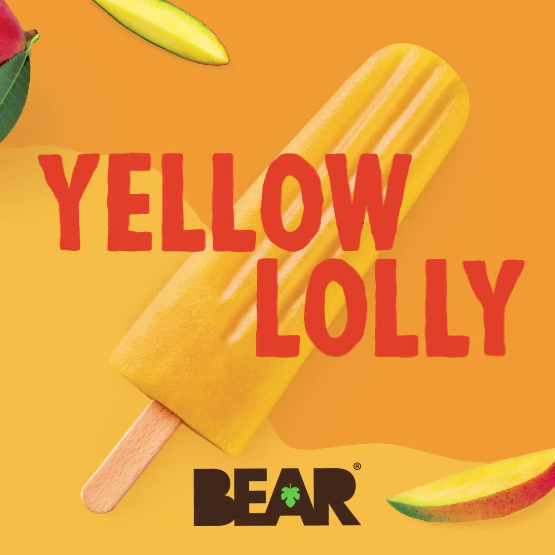 Two flavours. Two ingredients. One BEARilliant catchy tongue twister 🐻   Find BEAR Lollies in the Waitrose Frozen Aisle now 🥭🍓  #BEARsnacks #BEARlollies #RealFruit #RealFlavour #RealFun #redlolly #...