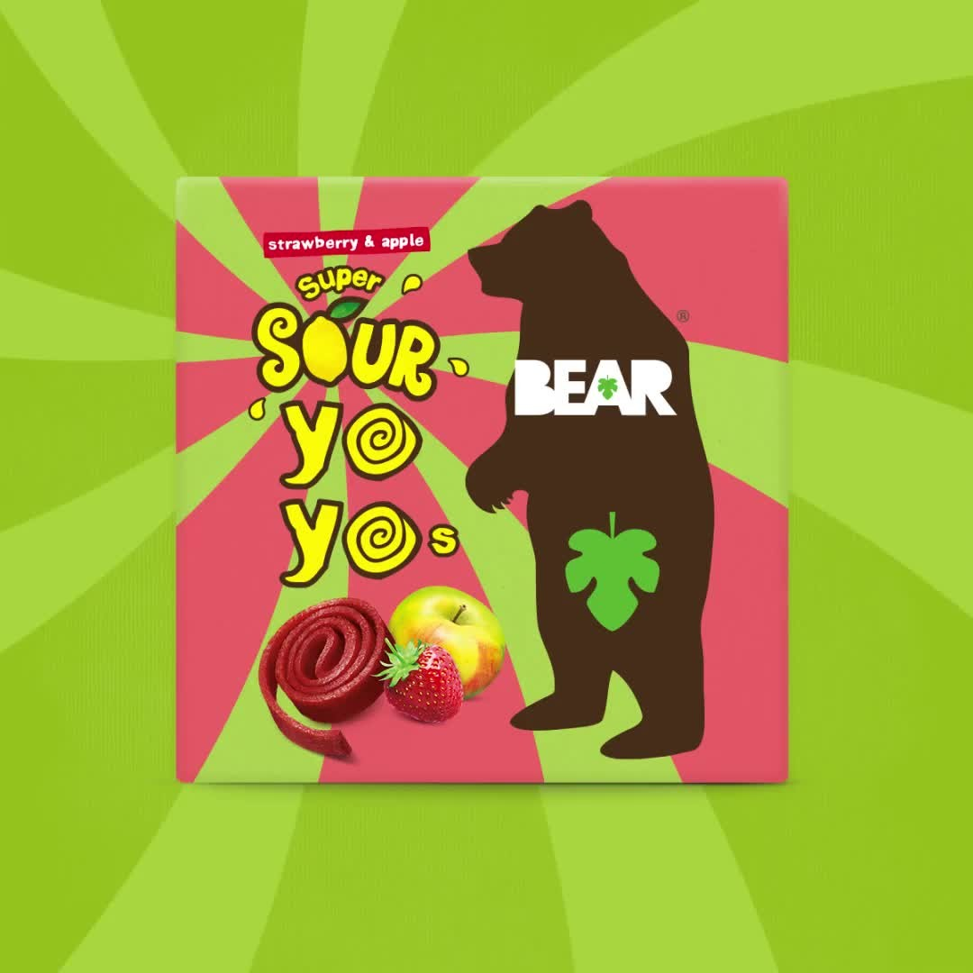Our Sour yoyos have had an Xtreme makeover! Introducing our NEW Xtreme Yoyos 🐻 ⚡ fantastically fruity, but with a slightly smaller squeeze of lemon 🍋   #BEARsnacks #BEARyoyos #Xtremeyoyos #RealFrui...