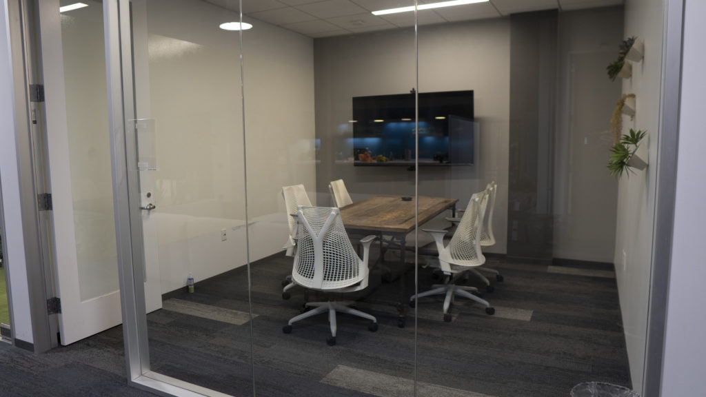 Image of Meeting Room at Density Offices Before Redesign