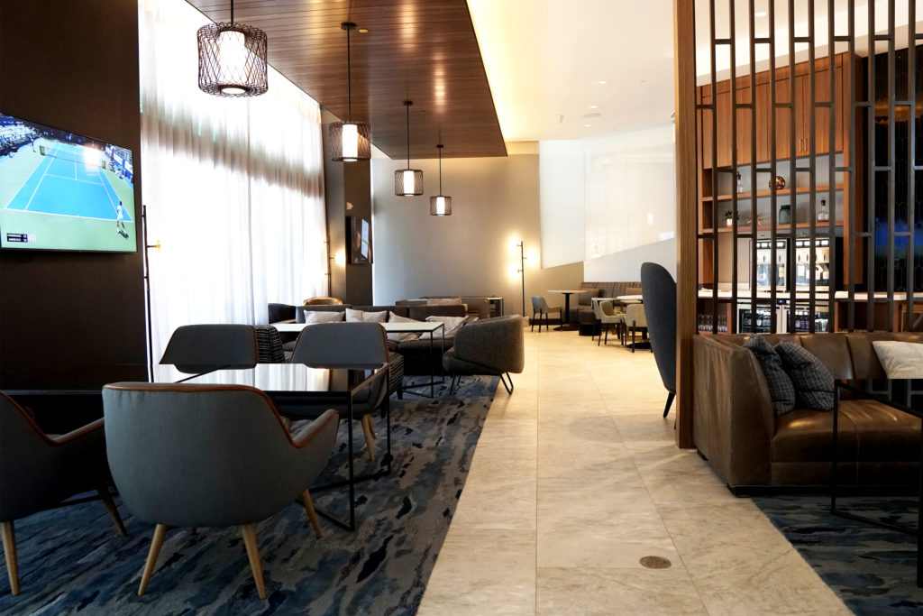 marriott lounge where density is installed