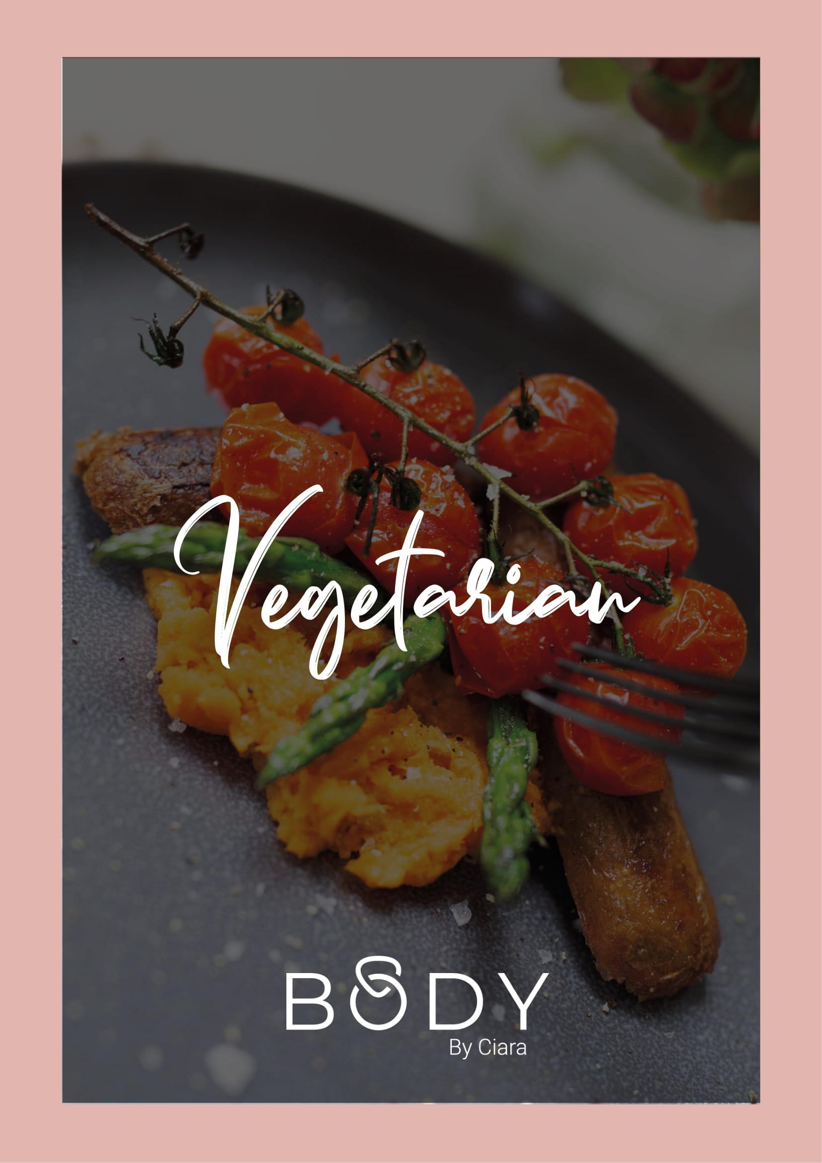 Rose Gold Nutrition Plan – Vegetarian