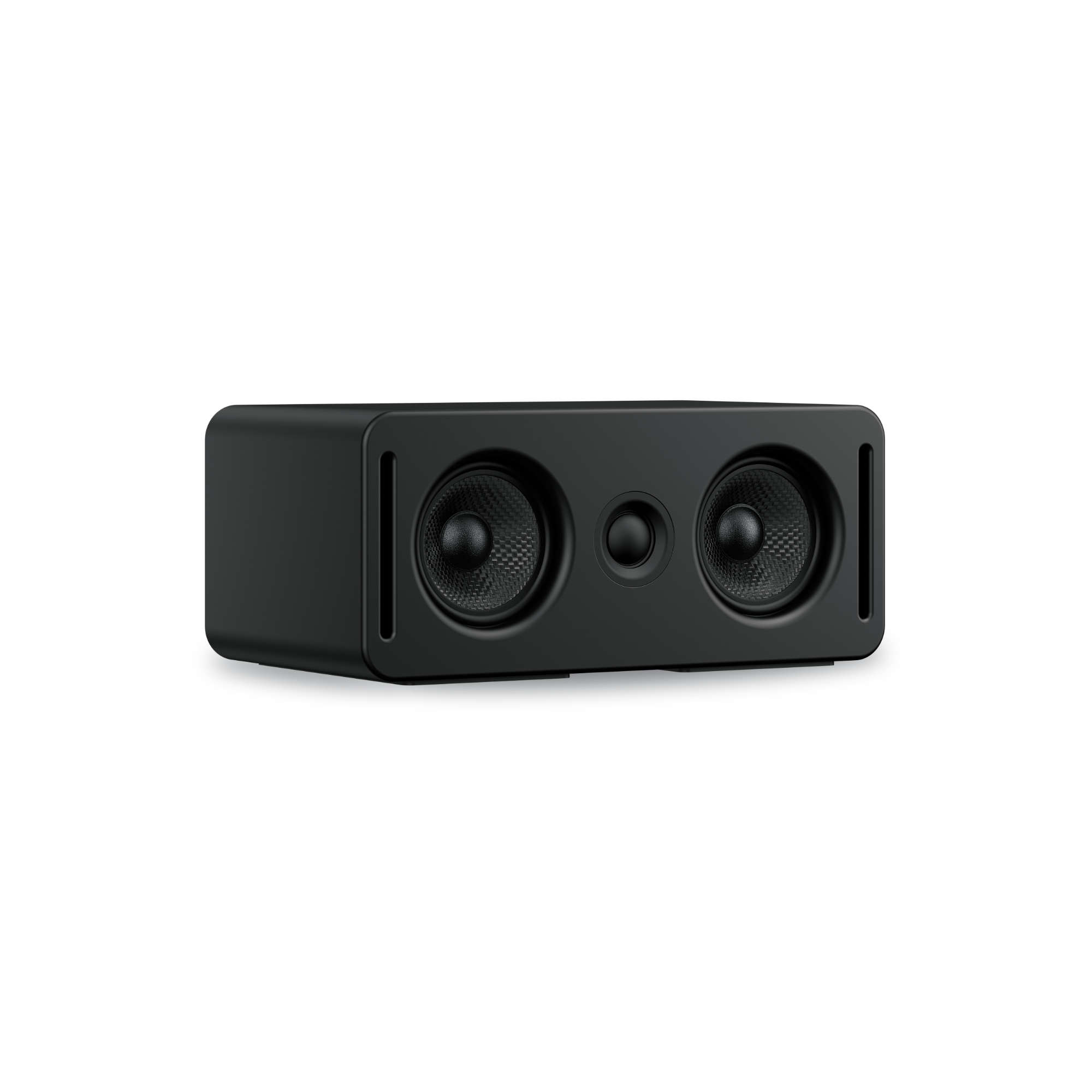 5.1 center channel speaker on a white background